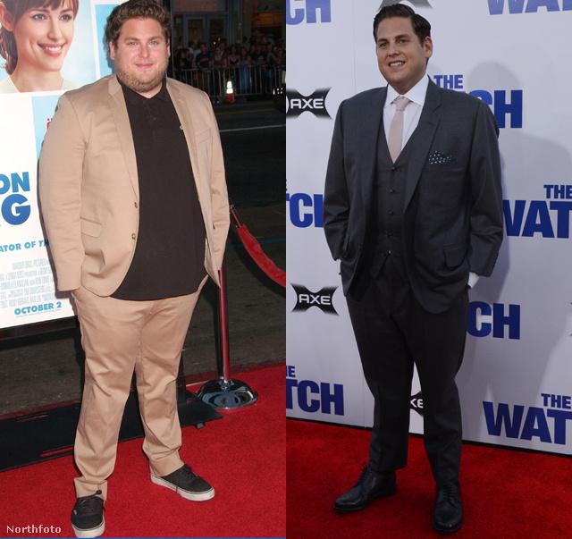 fogyás hollywoodi hírességeknél