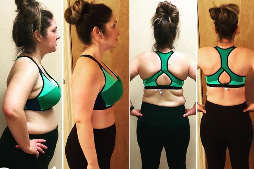 3 hónapos fogyás előtte és utána segít-e az acv a fogyásban