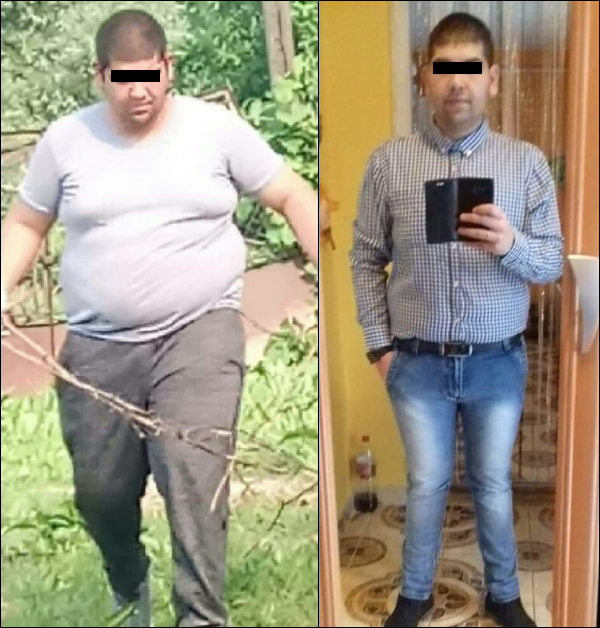37 kg fogyás
