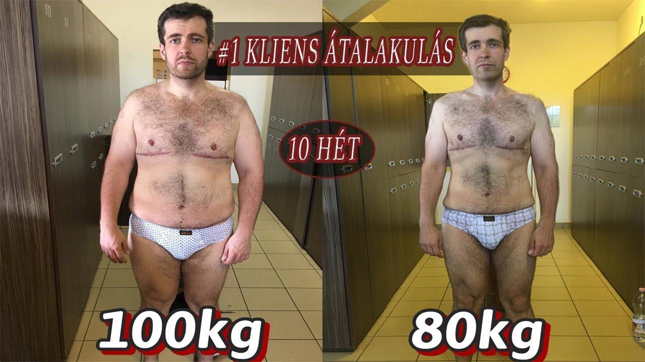4 kg fogyás előtt és után