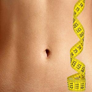 test karcsú ventre et taille