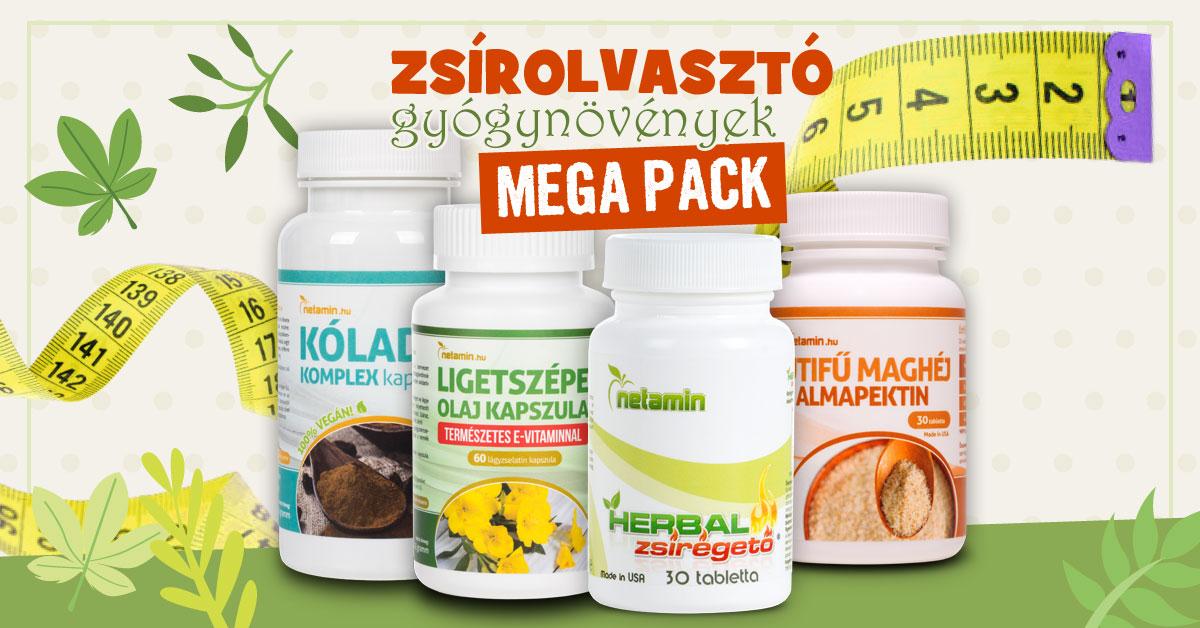természetes gyógynövények zsírégetés
