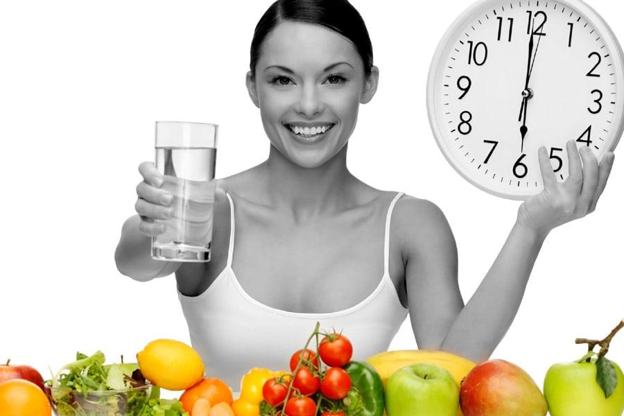 étkezés a fogyás elősegítésére