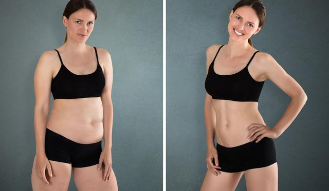 hogyan lehet lefogyni a has súlya 18 testzsírt veszít
