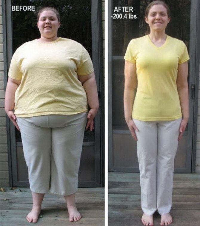fogyás 100 lbs utána