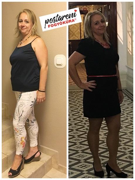 fogyás két hónappal előtte és utána mp cla zsírégető