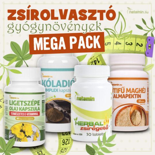 Zsírolvasztó gyógynövények MEGA PACK