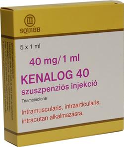 KENALOG 40 mg/ml szuszpenziós injekció
