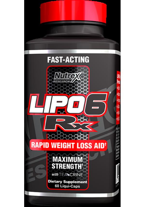 LIPO-6 RX - Zsírégetők - Nutrition Store - Táplálékkiegészítő Webáruház