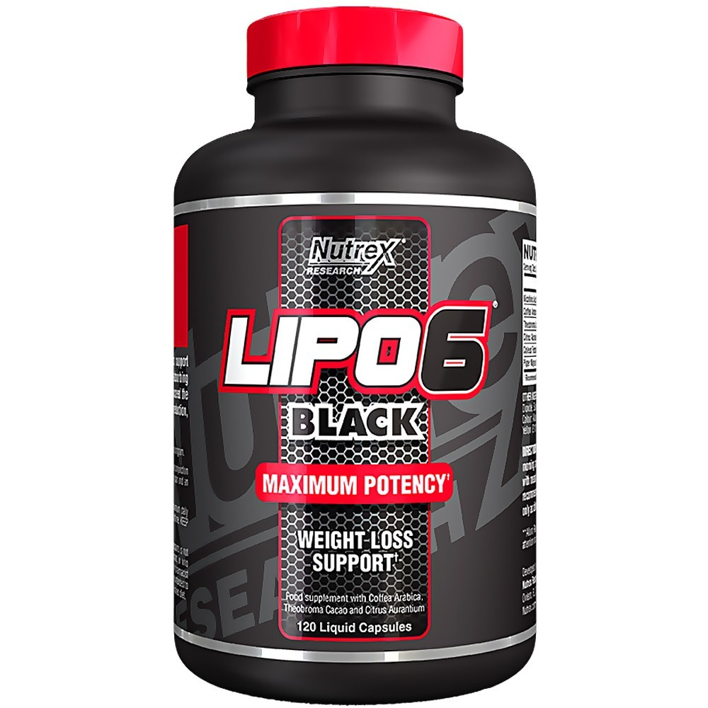 Nutrex Lipo-6 CLA 1000mg-os zsírégető Gélkapszula diéta, fogyás 180db