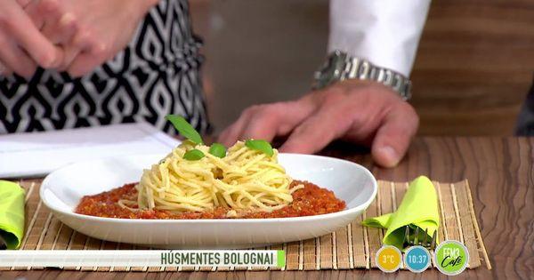 Regenoros Bolognai mártás spagettivel